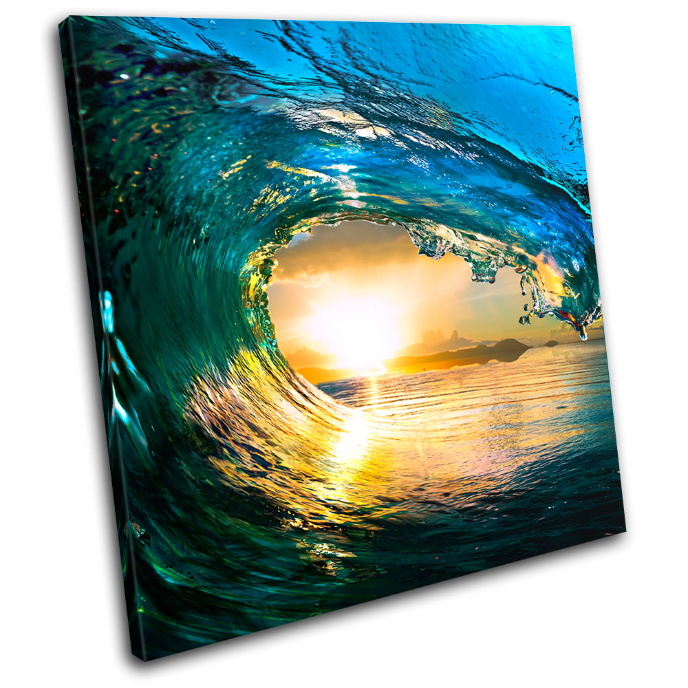 Awesome 40+ Wave Wall Art Inspiration Of Aliexpress : Buy Unframe 5 ...